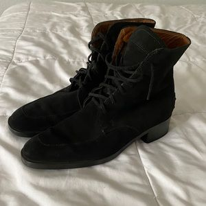Tod's Boots Black Suede. Size EU40/US 9.5- 10
